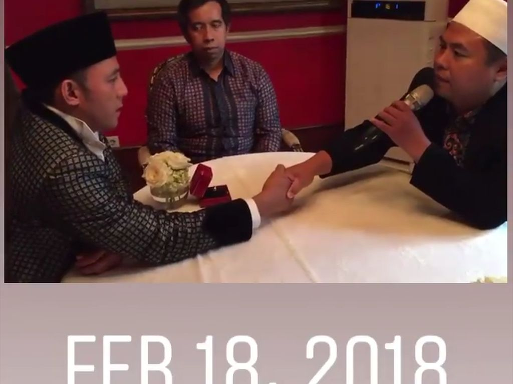 Buktikan Menikah dengan Dipo, Nikita Mirzani Posting Video Akad