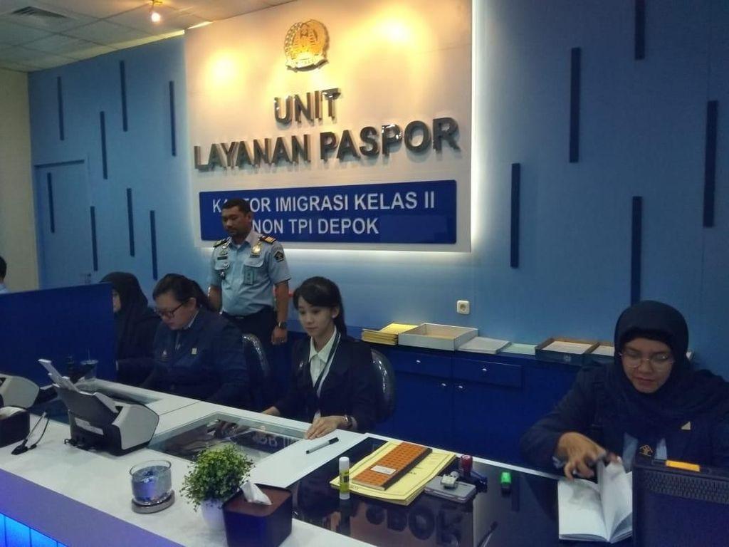 Kantor Imigrasi Depok Buka Layanan Buat Paspor di Detos Mall