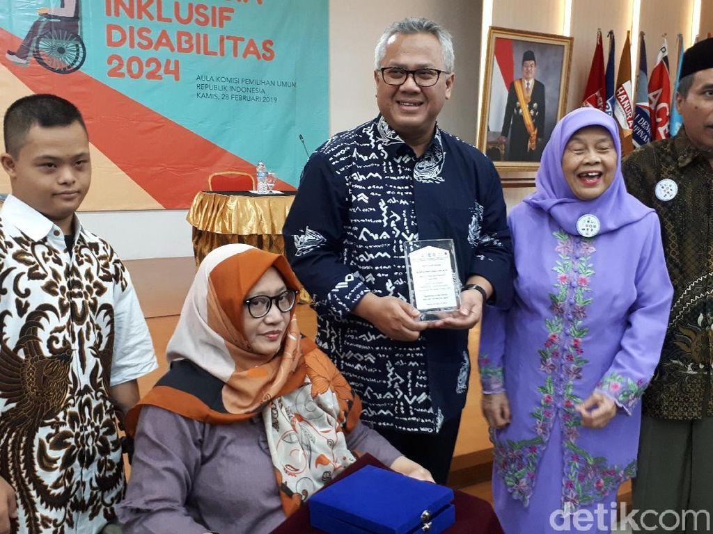 Pokja Penyandang Disabilitas Gelar Debat Timses Capres