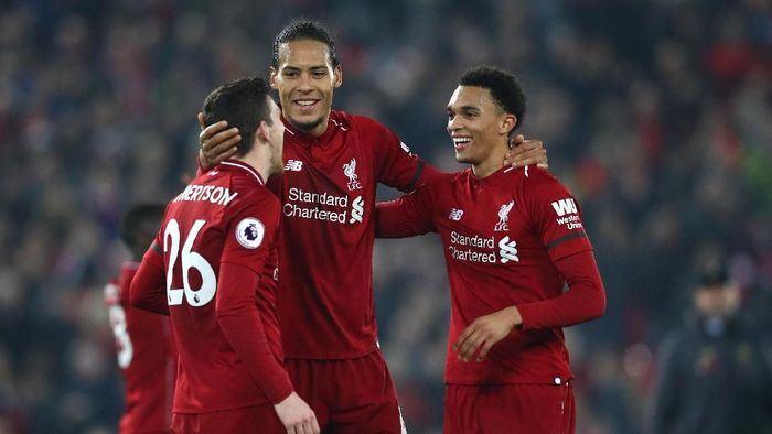 Virgil van Dijk merasa masa depan Liverpool akan cerah. (Foto: Clive Brunskill/Getty Images)