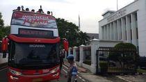 Rombongan Konvoi Timnas U-22 Tiba di Istana Negara