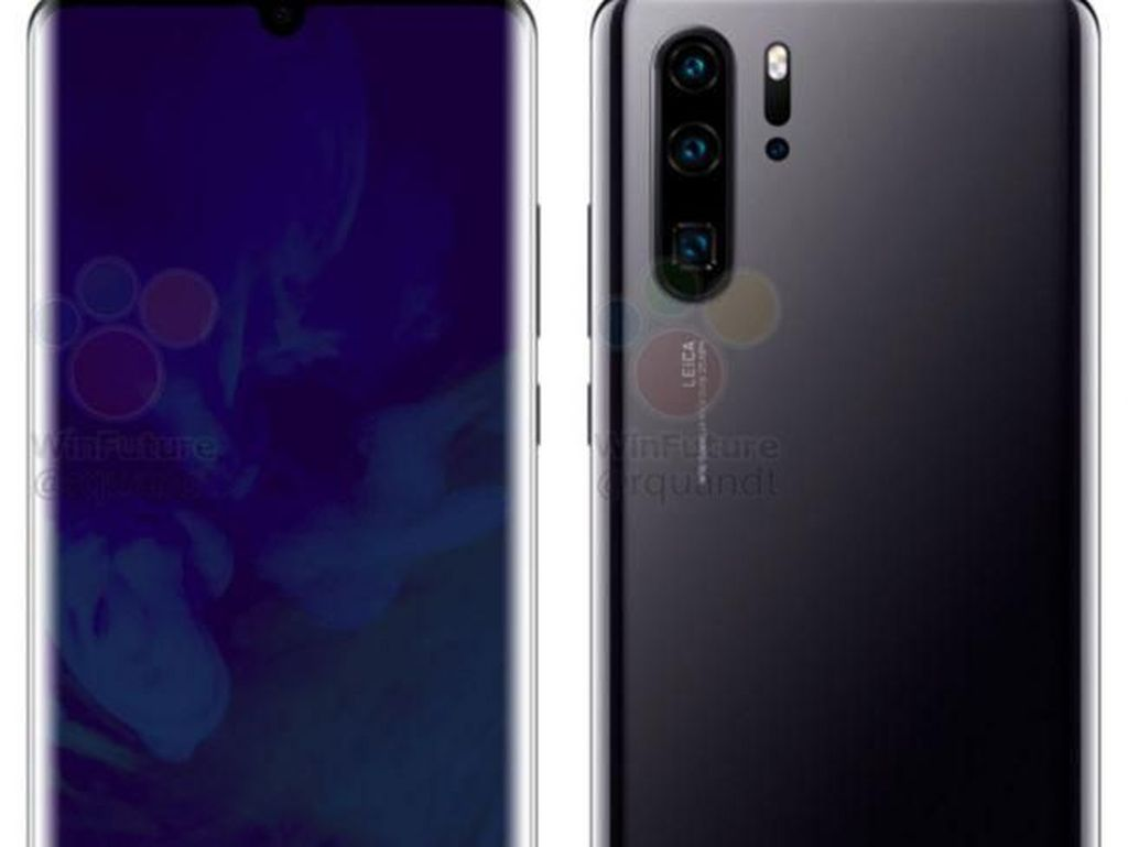 Paris Bersiap Sambut Kelahiran Huawei P30