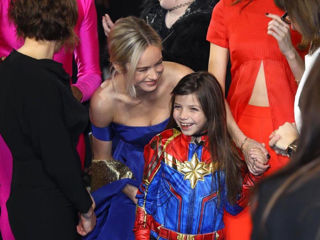 Saat Brie Larson Bertemu si Kecil Carol Danvers
