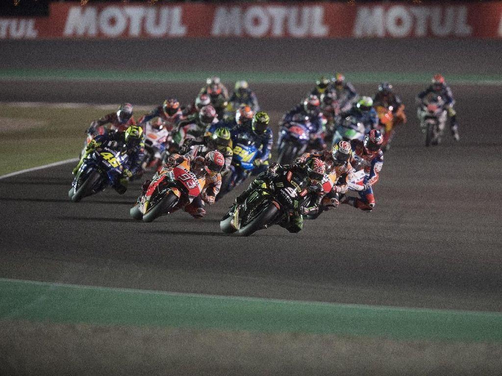 Dorna Pertimbangkan Majukan Start MotoGP Qatar