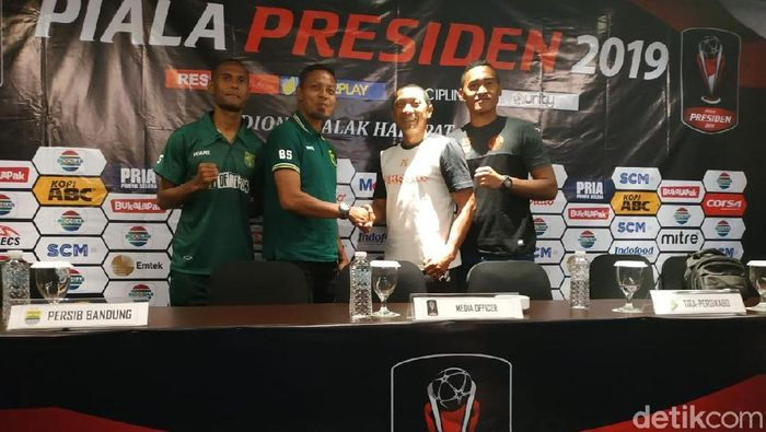 Menjelang Piala Presiden, Persebaya Surabaya tetap respek kepada Perseru Serui yang babak belur di Piala Indonesia. (Dony Indra Ramadhan/detikSport)