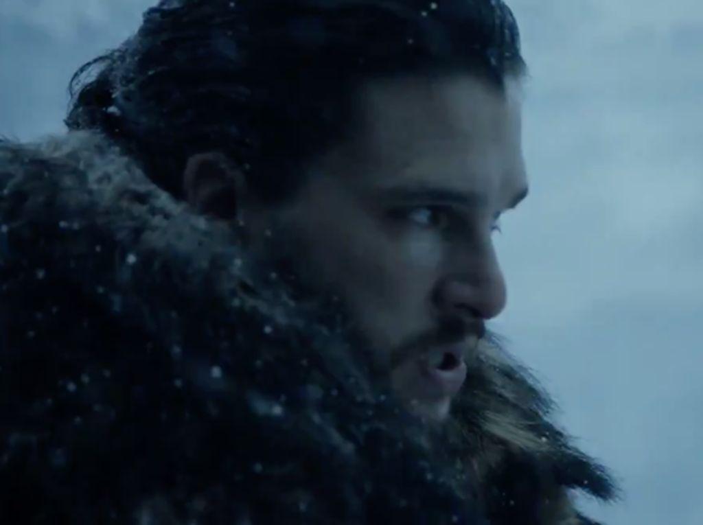 Klip Terbaru Game of Thrones Tampilkan Jon Snow nan Misterius