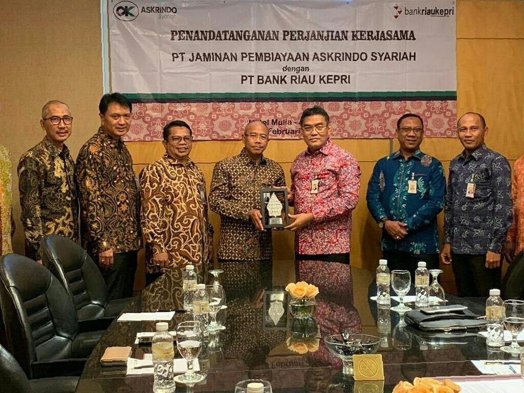 Askrindo Syariah Gandeng Bank Riau Kepri