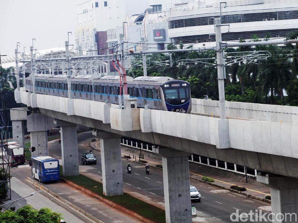 Jelang Operasi, MRT Jakarta Terus Diujicoba