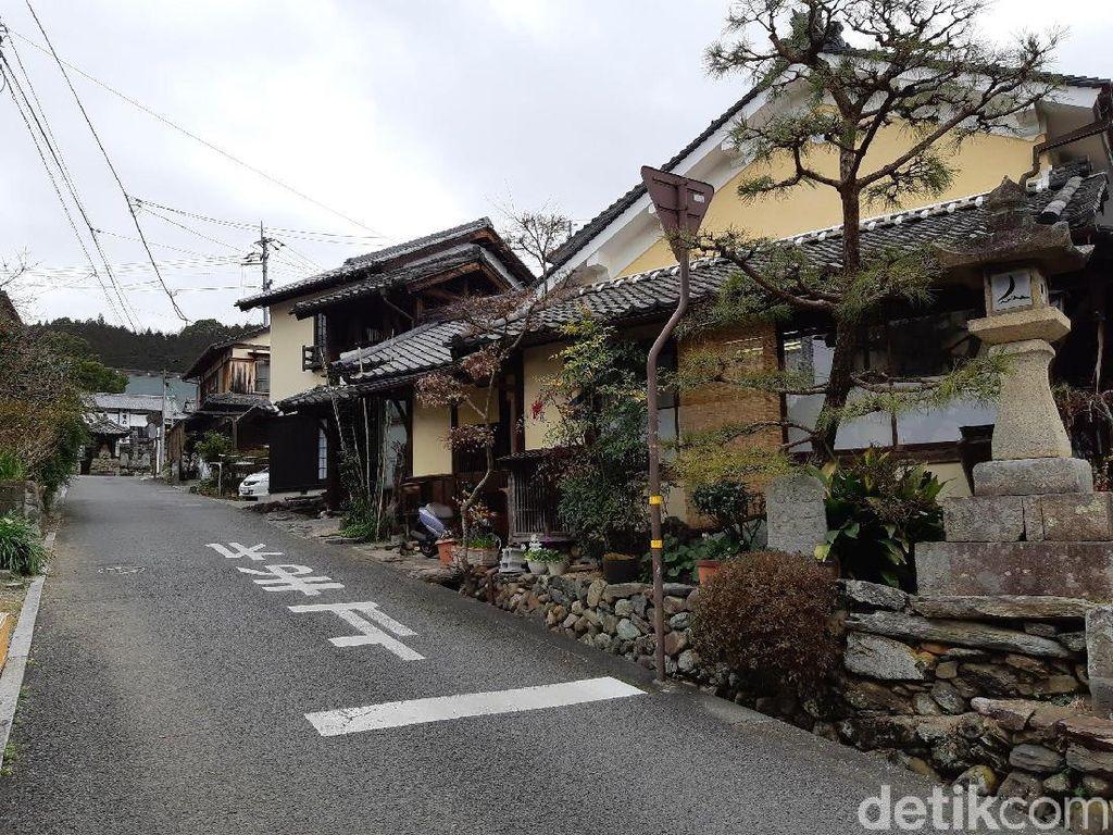 Kota Tua Uchiko, Romansa Zaman Edo di Jepang