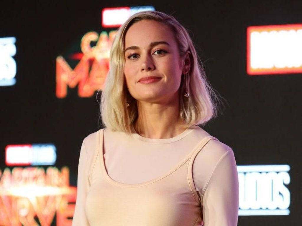 Brie Larson Melawan Alergi Kucing di Captain Marvel