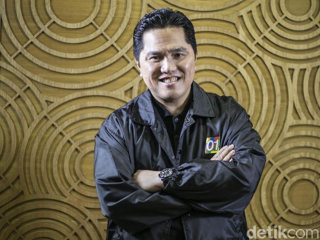 Erick Thohir: Saya Tak Tertarik Masuk Kabinet Jokowi