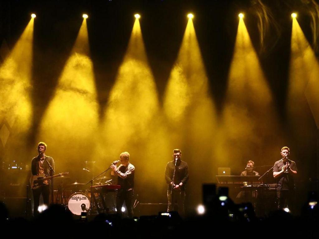 High Hopes Tutup Konser Kodaline di Jakarta Malam Ini