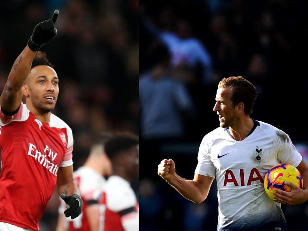 Adu Tajam Kane vs Aubameyang di Wembley, Siapa Bakal Lebih Menentukan?