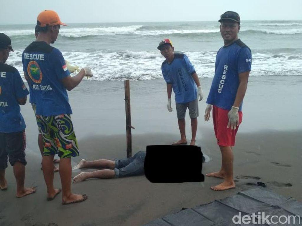 2 Mayat Misterius Ditemukan di Pantai Cemara Sewu Bantul