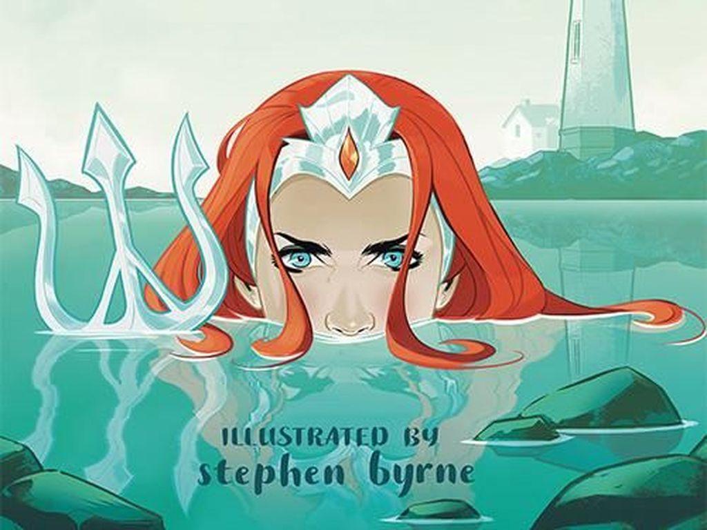 Penuh Kejutan, Komik Putri Mera Aquaman Ceritakan Awal Petualangannya
