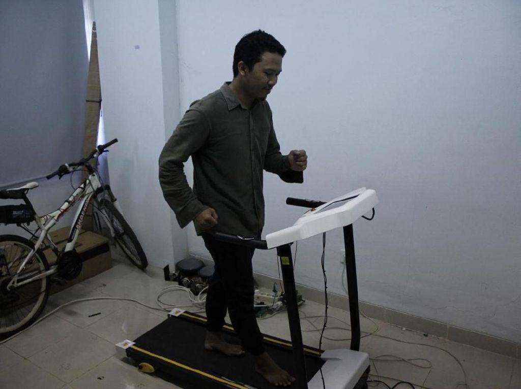 Mahasiswa ITS Bikin Treadmill yang Gunakan Detak Jantung untuk Atur Kecepatan