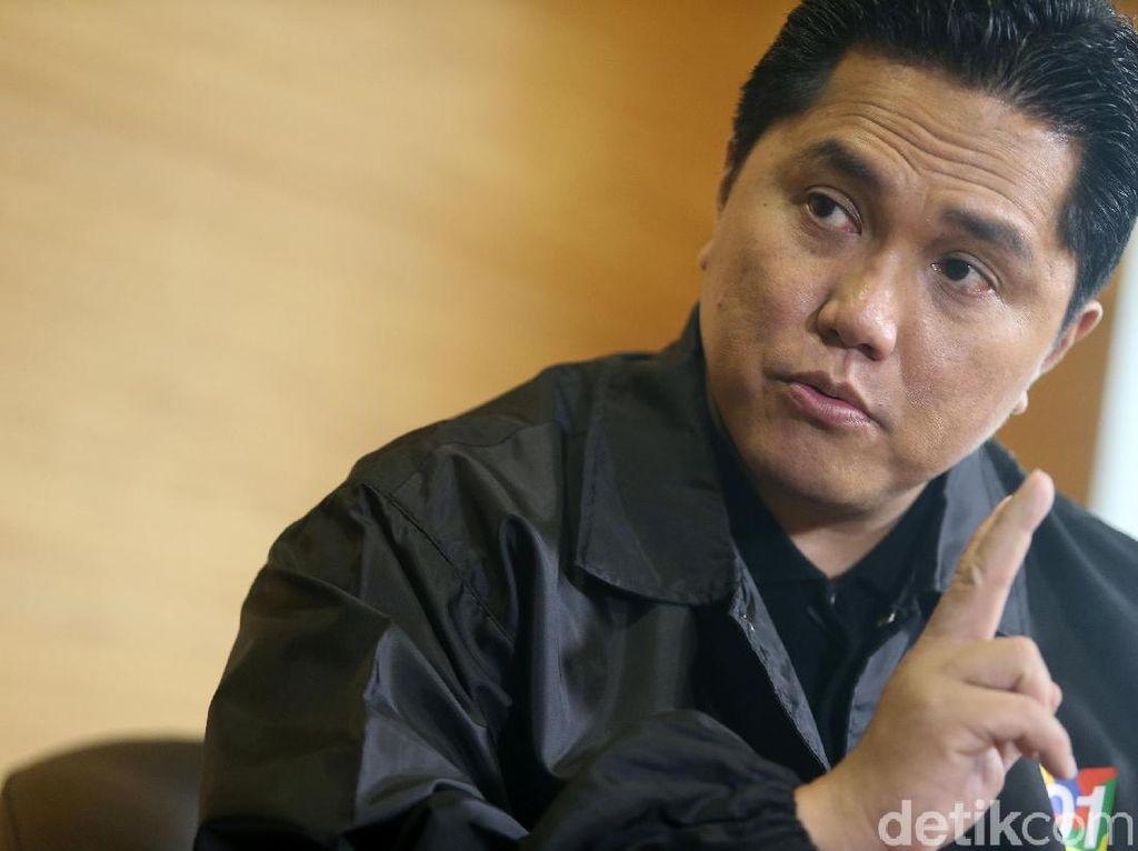 Erick Thohir Ingatkan Calon Bos PLN Ancaman Listrik Seret di 2023