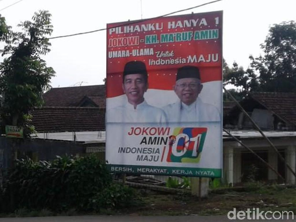 TKD Jokowi-Maruf Sebut Ada 4 APK di Jombang Dibubuhi Tulisan PKI
