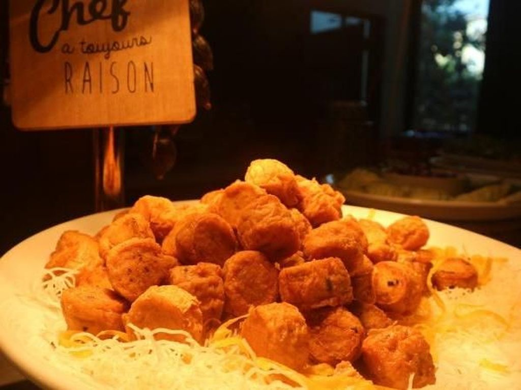 Foto: Mencicipi Makanan Buffet Halal di Bangkok