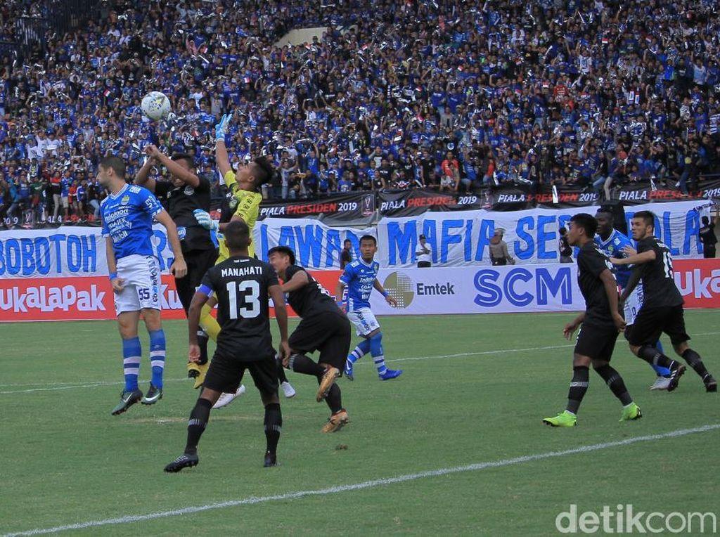 Persib Dikalahkan Tira Persikabo 1-2 di Laga Perdana Piala Presiden