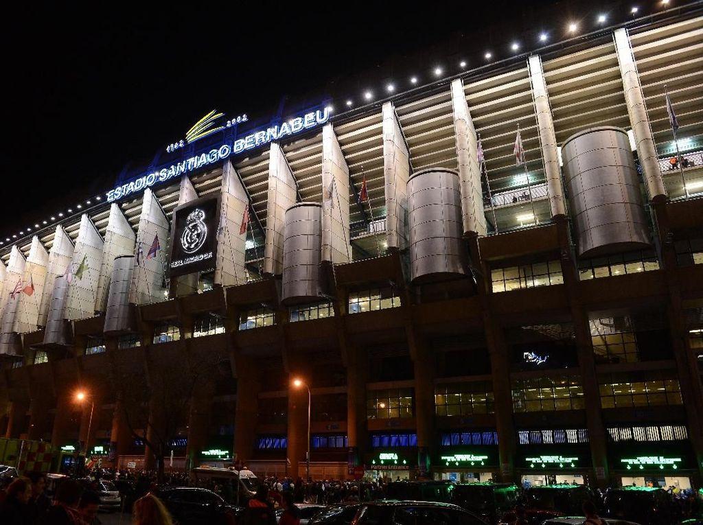 Markas Real Madrid Santiago Bernabeu: Megah Luar Dalam