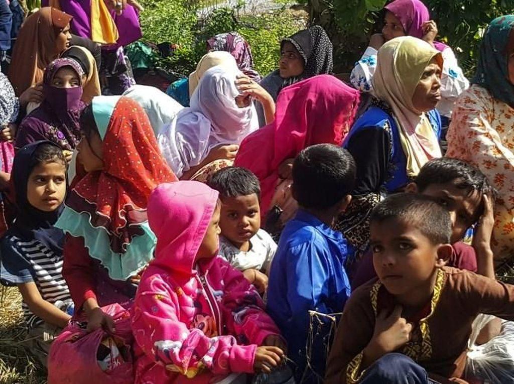 35 Pengungsi Rohingya Ditemukan Terdampar di Pantai Malaysia