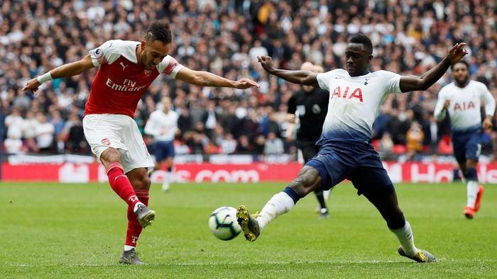 Tottenham Hotspur bermain imbang 1-1 dengan Arsenal dalam lanjutan Liga Inggris. (Foto: David Klein / Reuters)