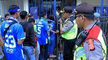 1.500 Aparat Siap Amankan Pertandingan Persib vs Borneo FC