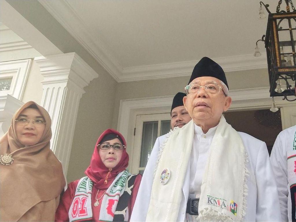 Jokowi Sempat Keluhkan Survei di Jabar, Maruf: Sekarang Sudah Bagus