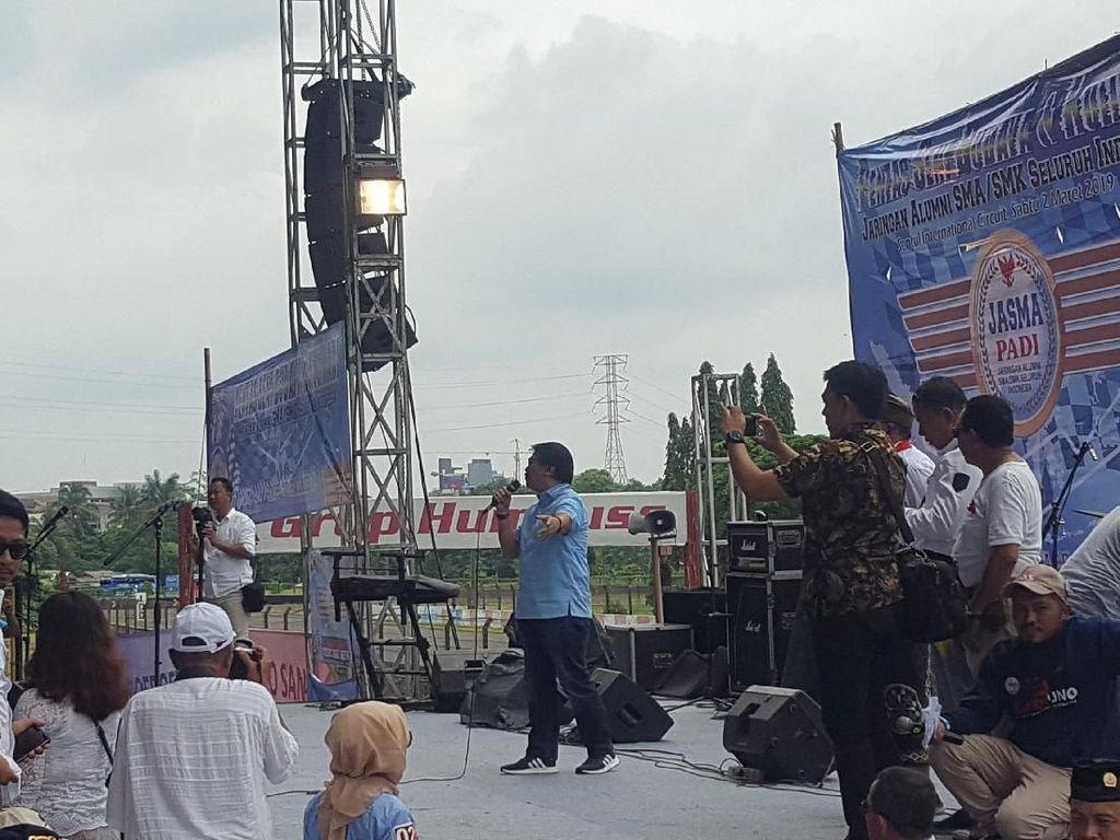 Di Acara Relawan, Adhyaksa Dault Samakan Prabowo dengan Tokoh Pengkritik Raja