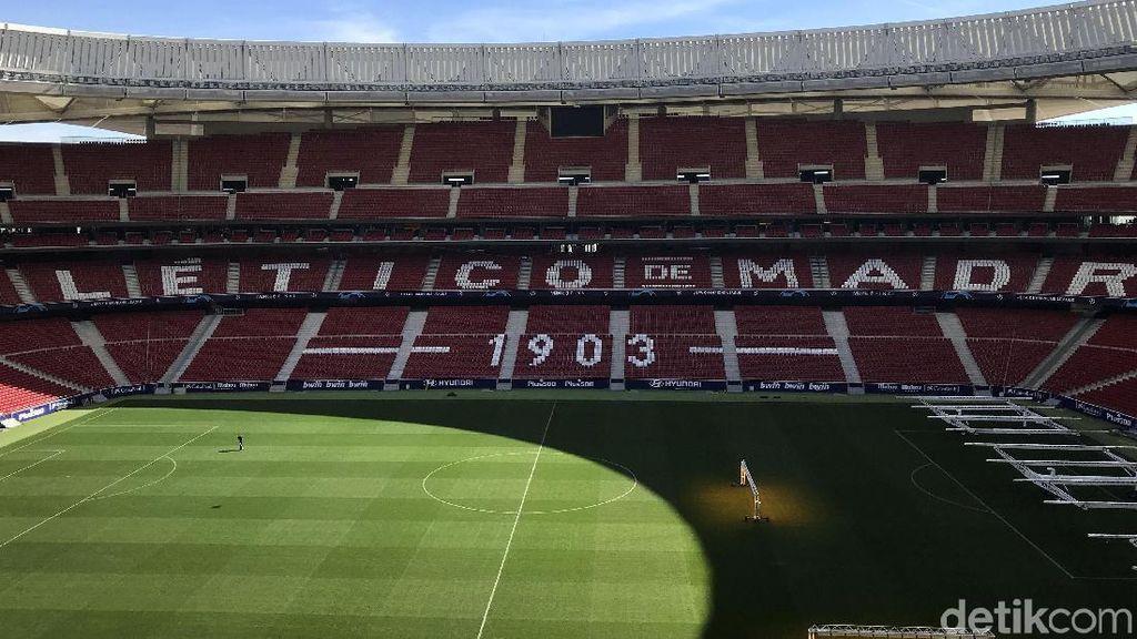 Mengunjungi Wanda Metropolitano, Markas Baru Atletico Madrid