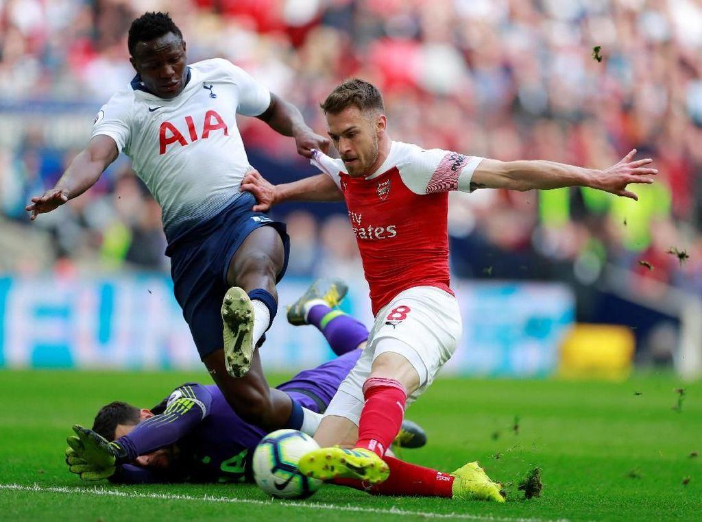Babak I: Ramsey Bawa Arsenal Ungguli Tottenham 1-0