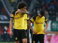 Hasil Liga Jerman: Dortmund Tumbang di Kandang Augsburg