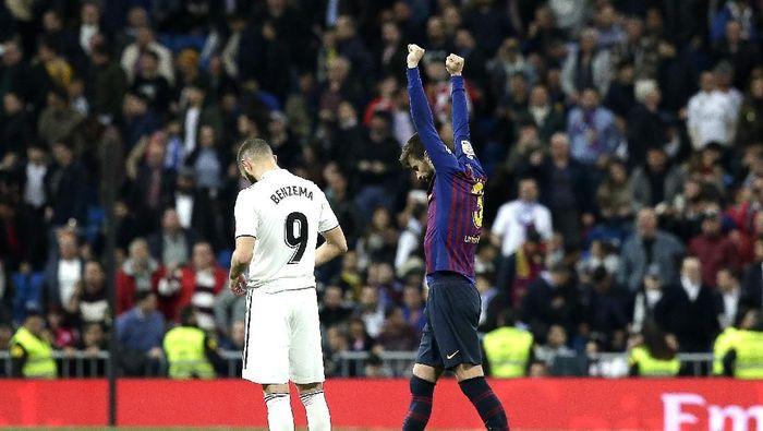 Madrid kembali ditumbangkan Barcelona di Santiago Bernabeu. (Foto: Gonzalo Arroyo Moreno/Getty Images)