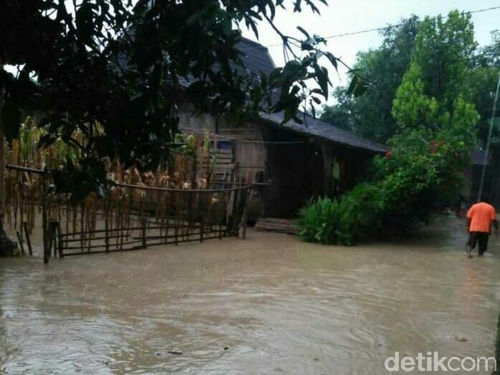 Banjir Kiriman yang Genangan Desa di Grobogan Mulai Surut