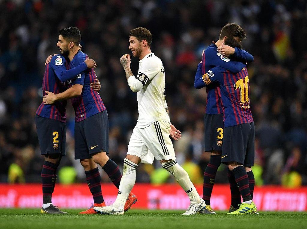Madrid Kalah dari Barca di Bernabeu
