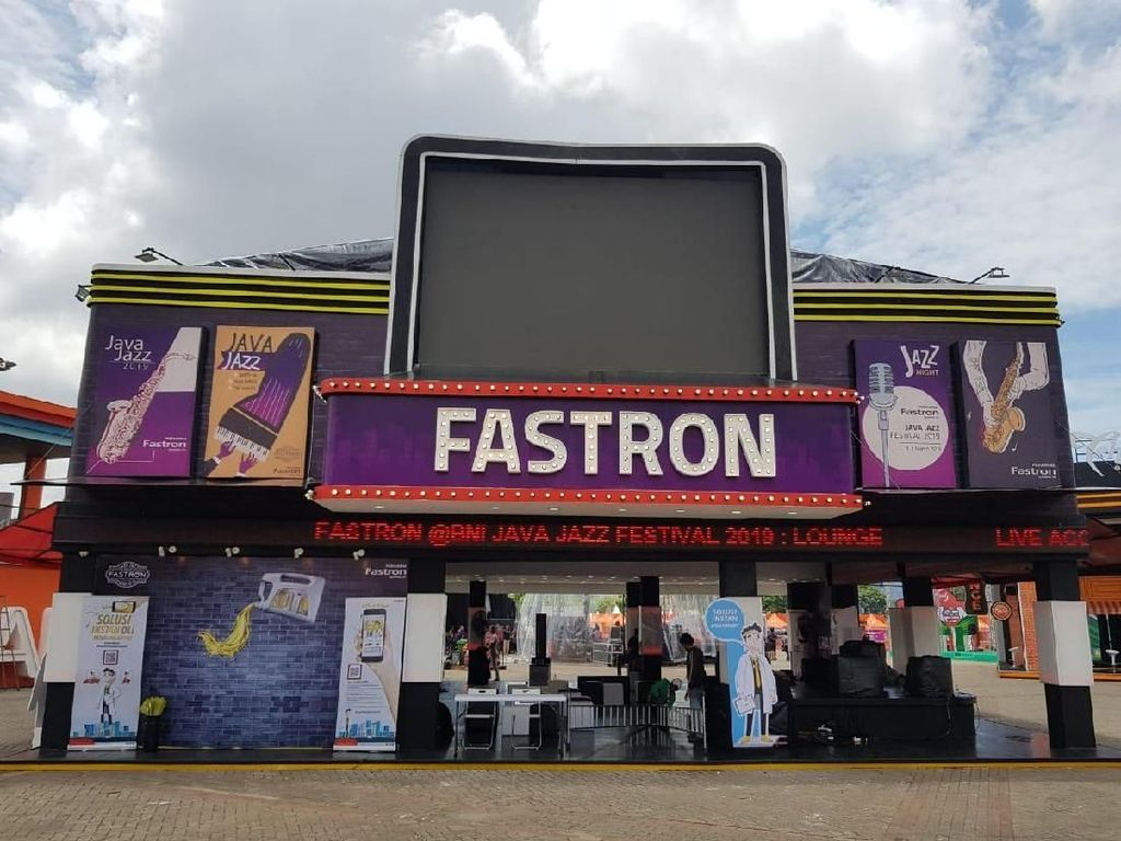 Di Java Jazz 2019, Fastron Gold Didiskon 50%
