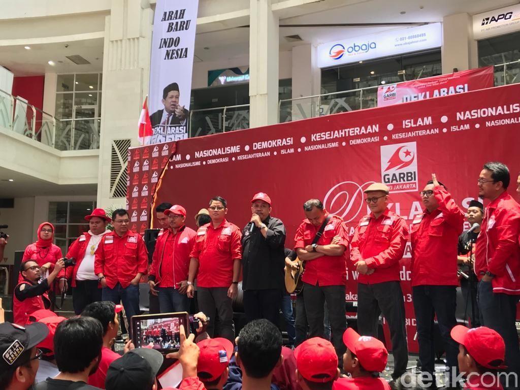 Fahri Sebut Garbi Dukung Capres Bertenaga, Jokowi atau Prabowo?