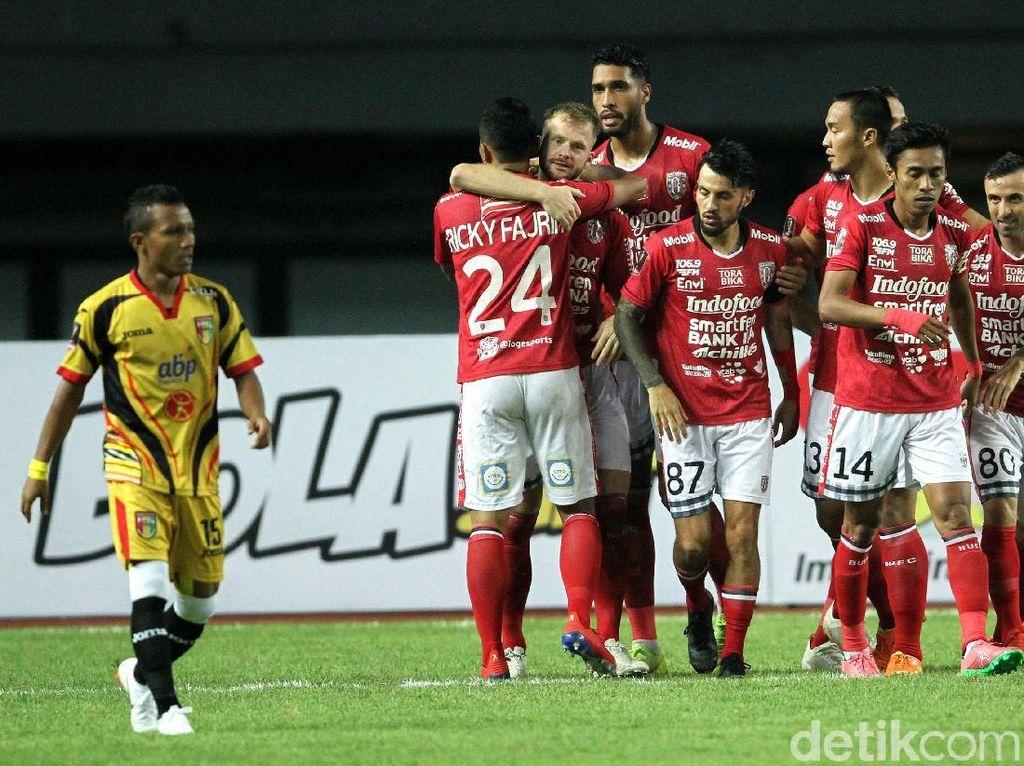 Bali United Bungkam Mitra Kukar 3-0 di Piala Presiden