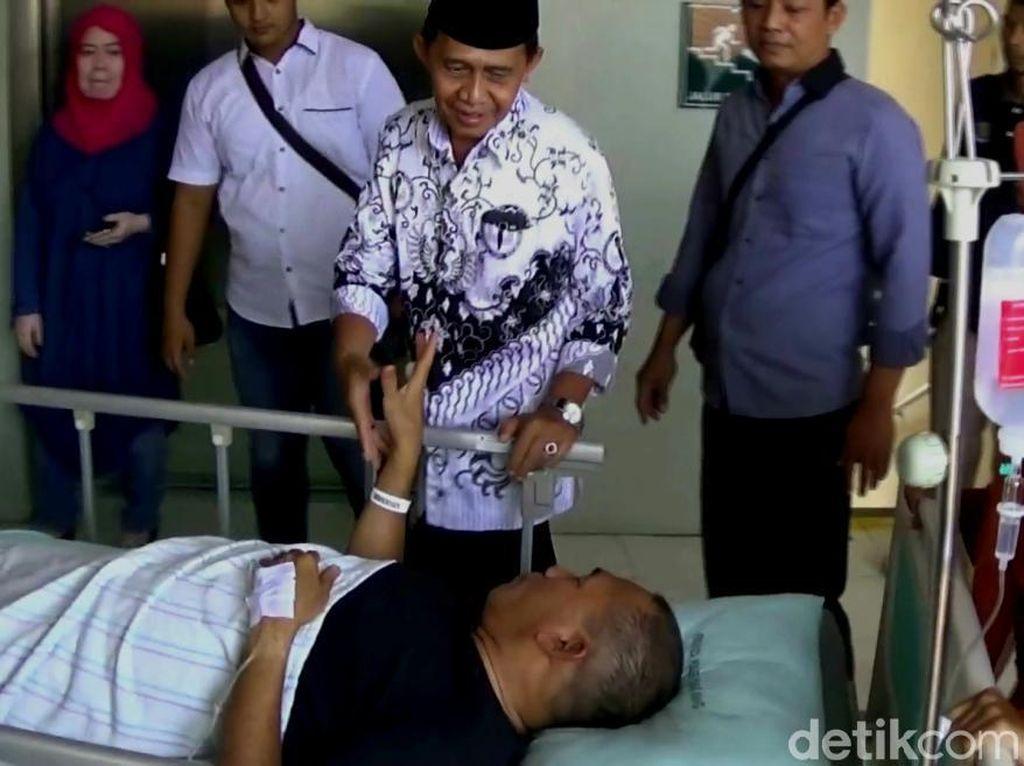 Kecelakaan di Tol, Bupati Demak di Rujuk ke RS Kariadi Semarang