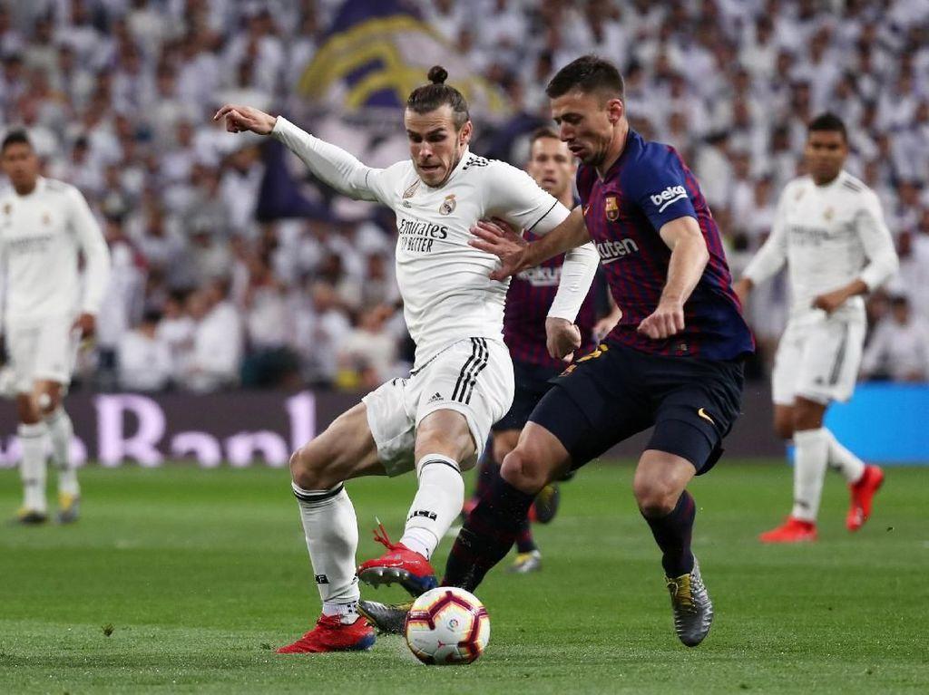 Madrid Ditaklukkan Barcelona, Bale Disoraki Publik Santiago Bernabeu