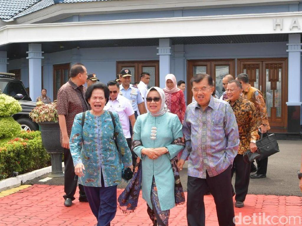 JK Terbang ke Singapura Jenguk Ani Yudhoyono