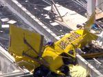Pesawat Tabrak Kondominium, Pilot Tewas