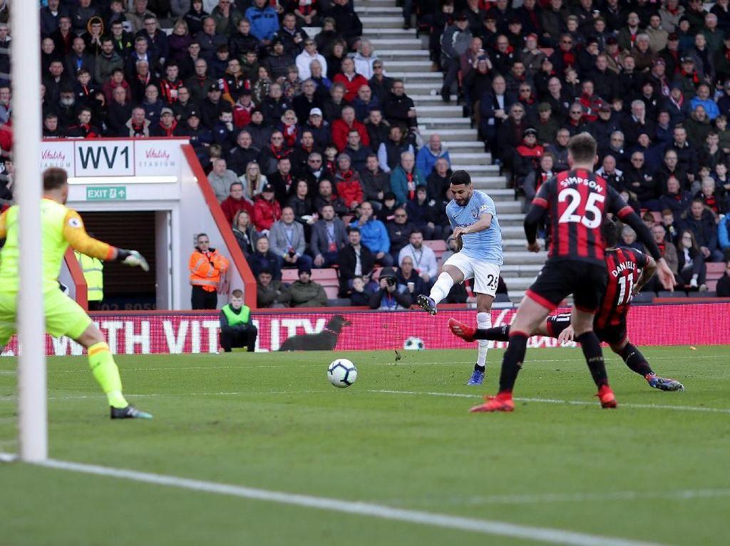 Hasil Liga Inggris: City ke Puncak Klasemen Usai Kalahkan Bournemouth 1-0