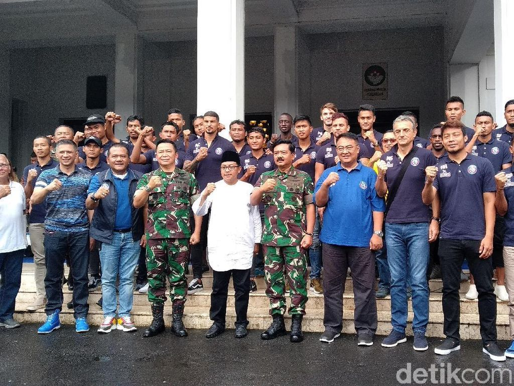 Datang ke Malang, Panglima TNI: Saya Arema