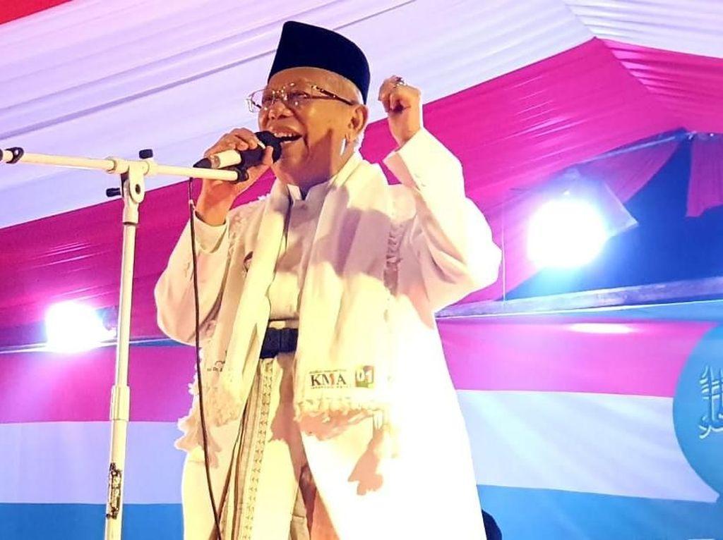 Maruf Amin Sindir soal Negara Bubar: Indonesia Harga Mati