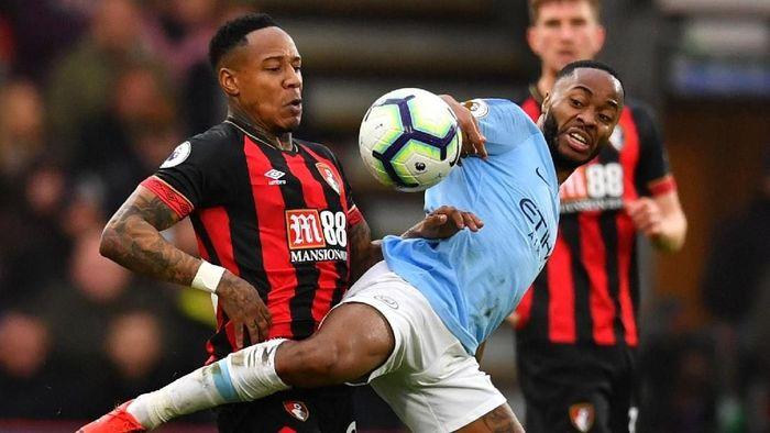 Bournemouth tak banyak punya kesempatan saat menjamu Manchester City (Reuters)