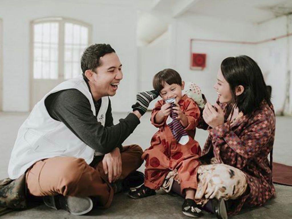 Andien Berbagi Kisah Parenting Lewat Belahan Jantungku