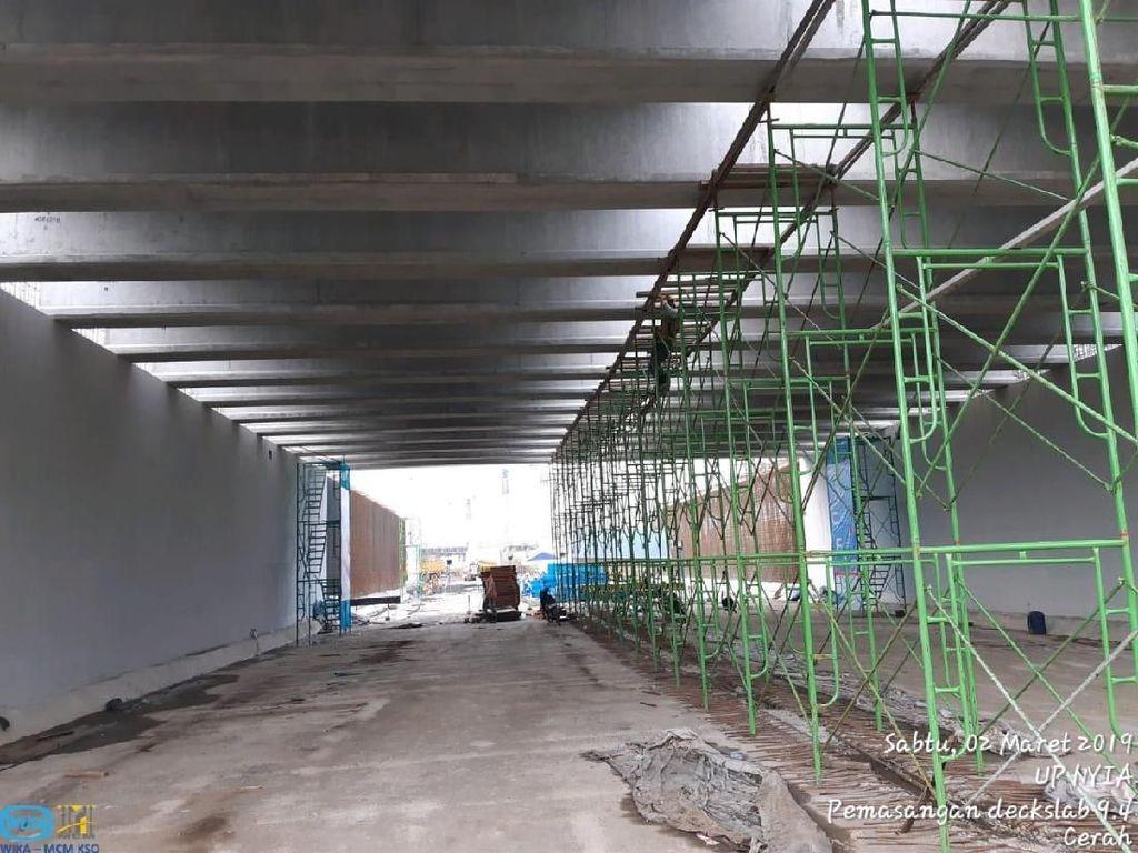 Underpass Bandara YIA Selesai Lebih Cepat, November Bisa Dipakai