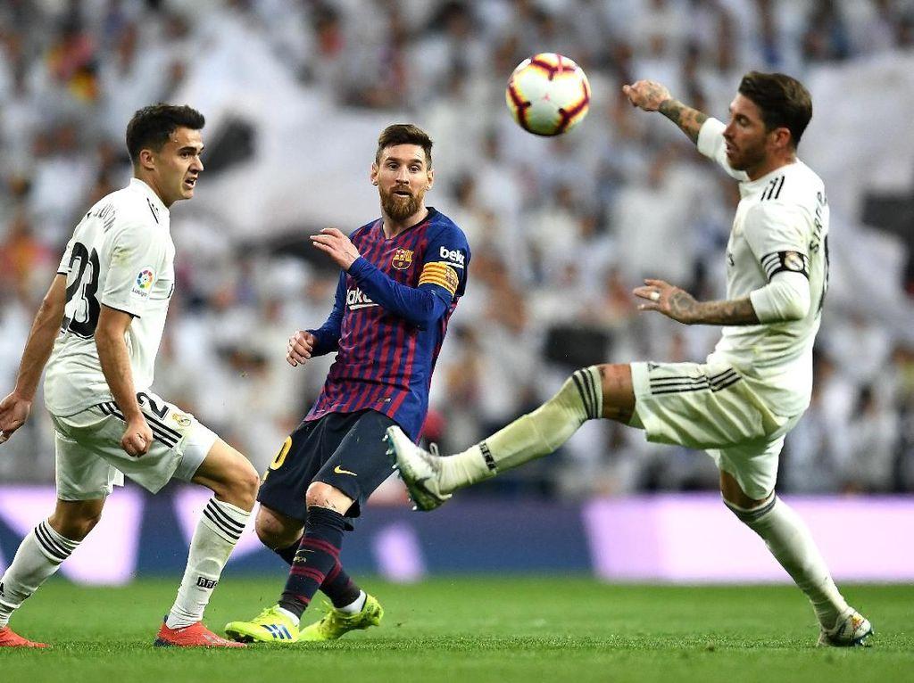 Ramos-Messi di El Clasico: Salaman, Benturan, Adu Mulut